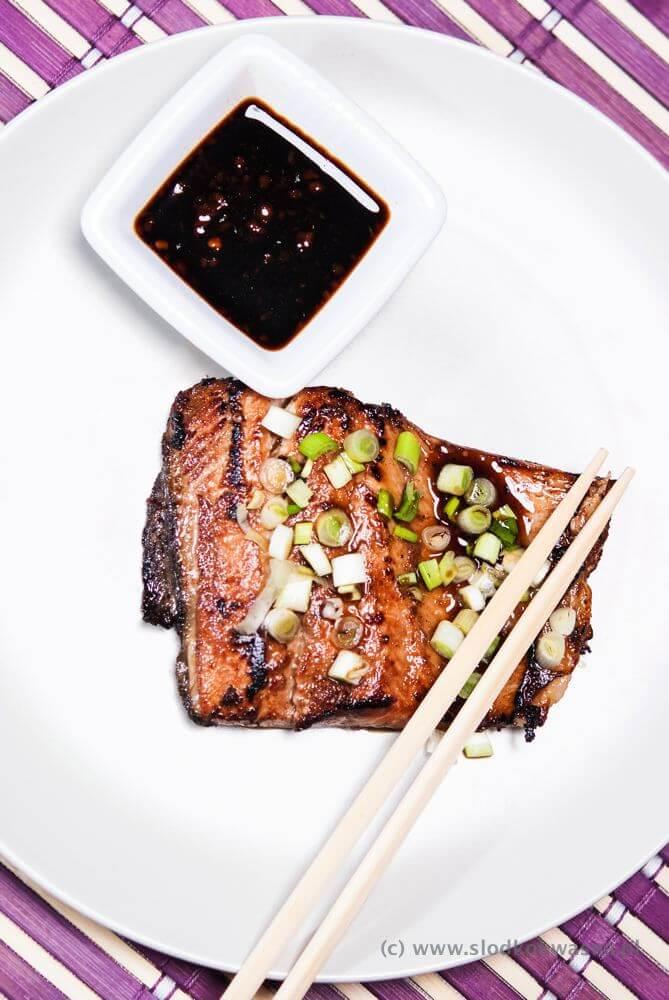 Ryba w sosie sojowym