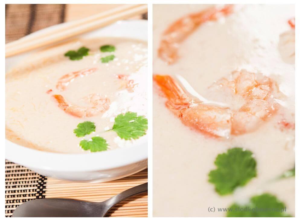 fot cookandwatch com zupa z dyni makaronowej z krewetkami Sezonowo dyniowo