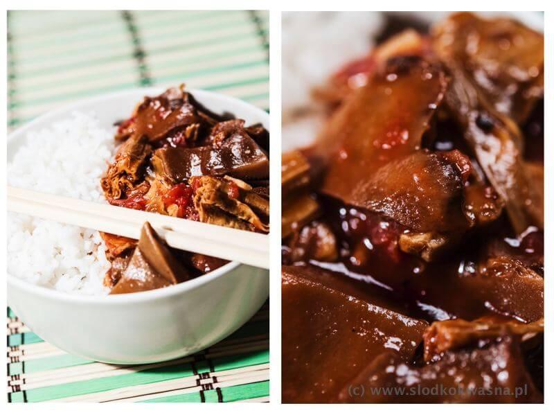 fot cookandwatch com tofu i rydze w pomidorach Lepszy rydz, niż nic