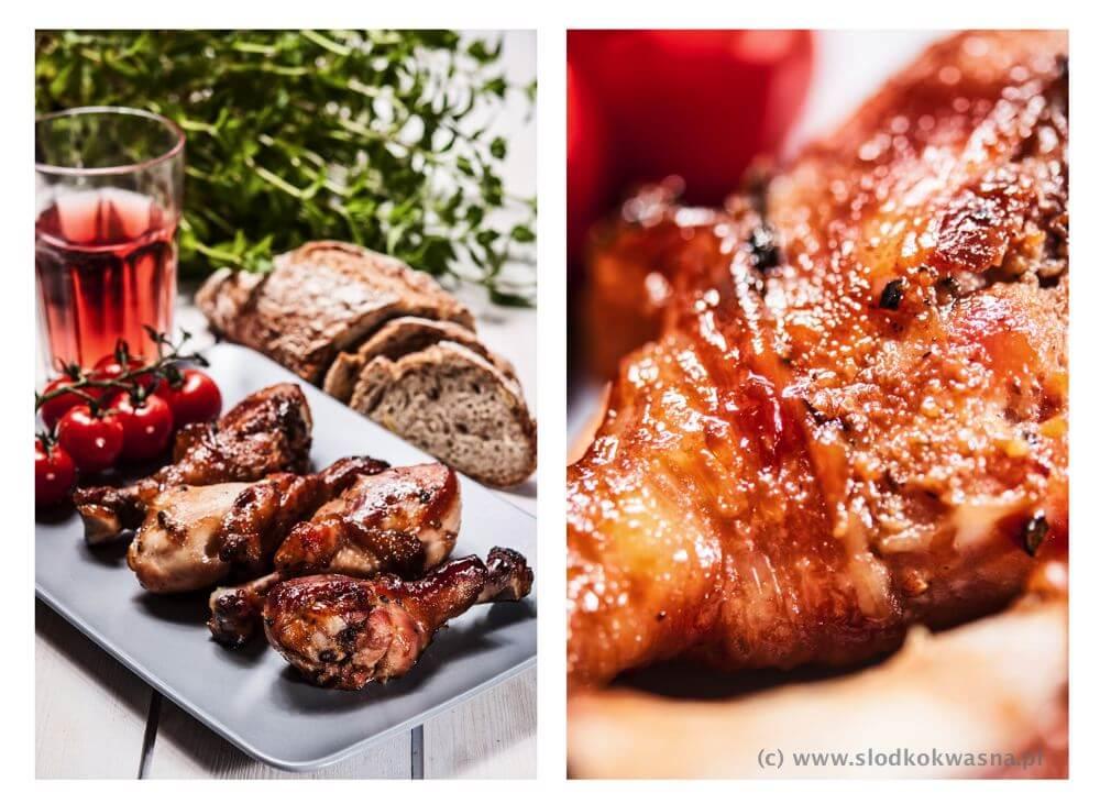 fot cookandwatch com kurczak w sosie teryjaki na zimno Piknikowy kurczak teriyaki