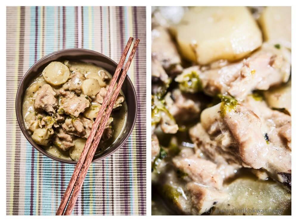 fot cookandwatch com Ca ri kurczak i topinambur Kari z kurczaka z topinamburem