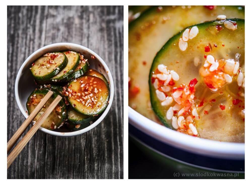 fot cookandwatch com koreanskie ogorki Ogórki i kuchnia koreańska