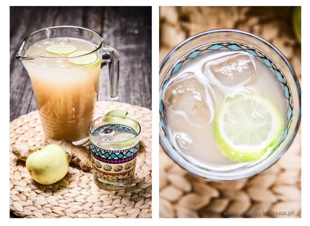 fot cookandwatch com lemoniada jablkowo imbirowa Lemoniada jabłkowo imbirowa