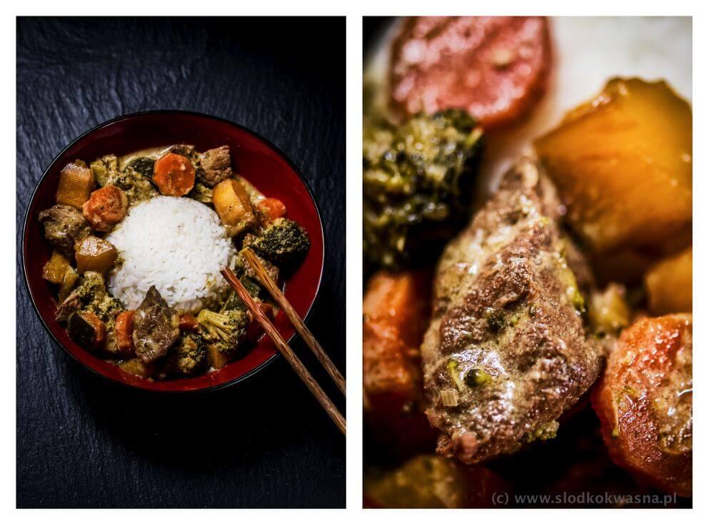 fot cookandwatch com curry z mango wolowina i warzywami2 Curry z wołowiną, mango i warzywami.