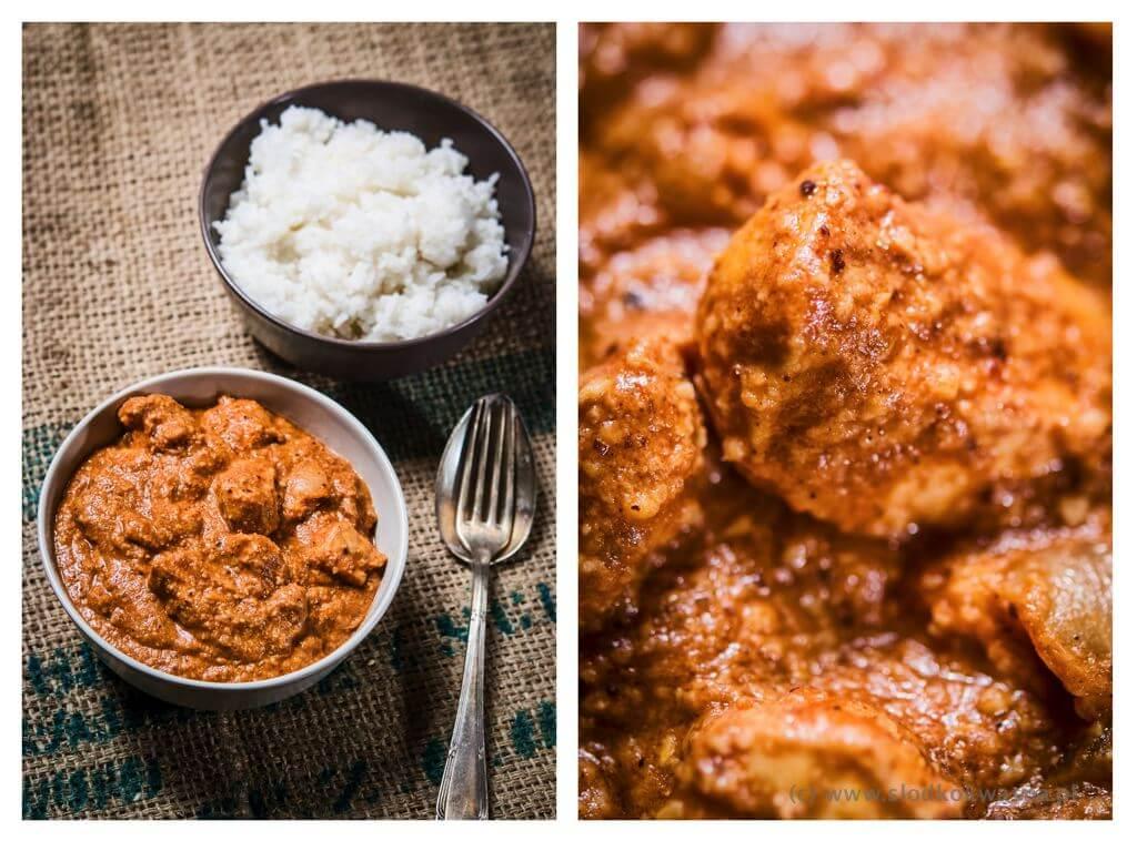 fot cookandwatch com kurczak po indyjsku Kurczak po indyjsku w maśle z orzechami