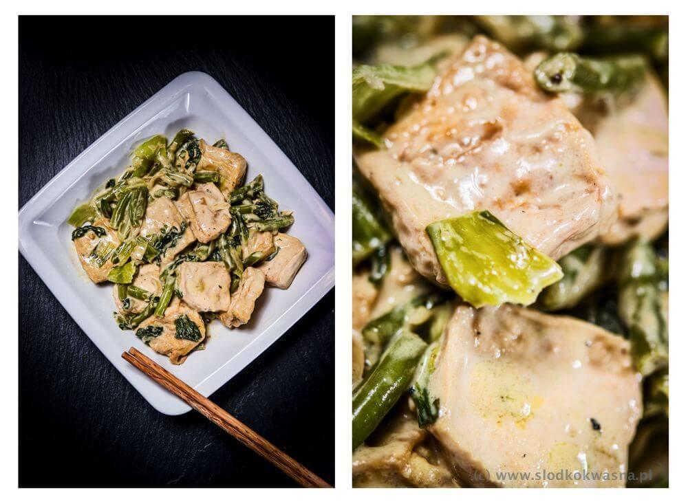fot cookandwatch com tofu z fasolka pak choi i mlekiem kokosowym Tofu z fasolką, pak choi i mlekiem kokosowym