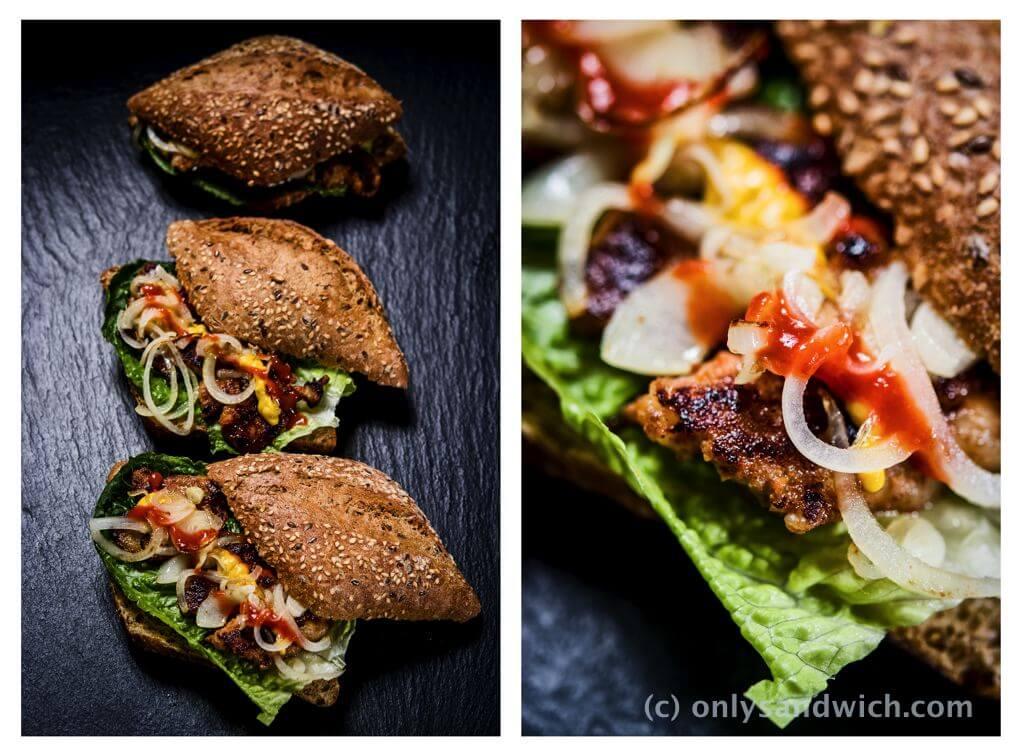 fot cookandwatch com kanapka z boczkiem po koreansku Wieprzowina po koreańsku z grilla dwaejibulgogi