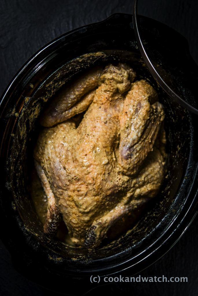 fot cookandwatch com perliczka Perliczka z ziemniakami i pietruszką