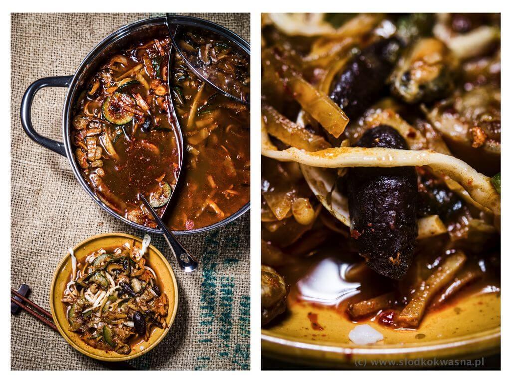 fot cookandwatch com zupa koreanksa z owocami morza Koreańska zupa z owocami morza (Jjamppong Jjambbong Jjampong)