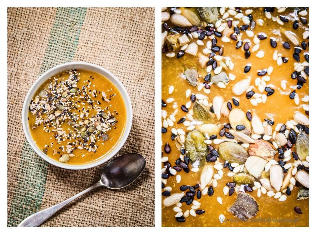 fot cookandwatch com zupa dyniowa azjatycki smak Orientalna zupa dyniowa