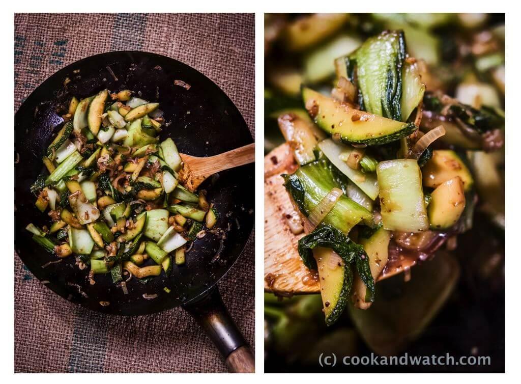 fot cookandwatch com warzywa z woka z sosem ostrygowym rybnym i pieprzem podluznym Warzywa z woka z sosem ostrygowym