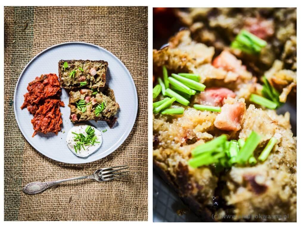 fot cookandwatch com babka ziemniaczana z boczkiem 002 Babka ziemniaczana i kimchi