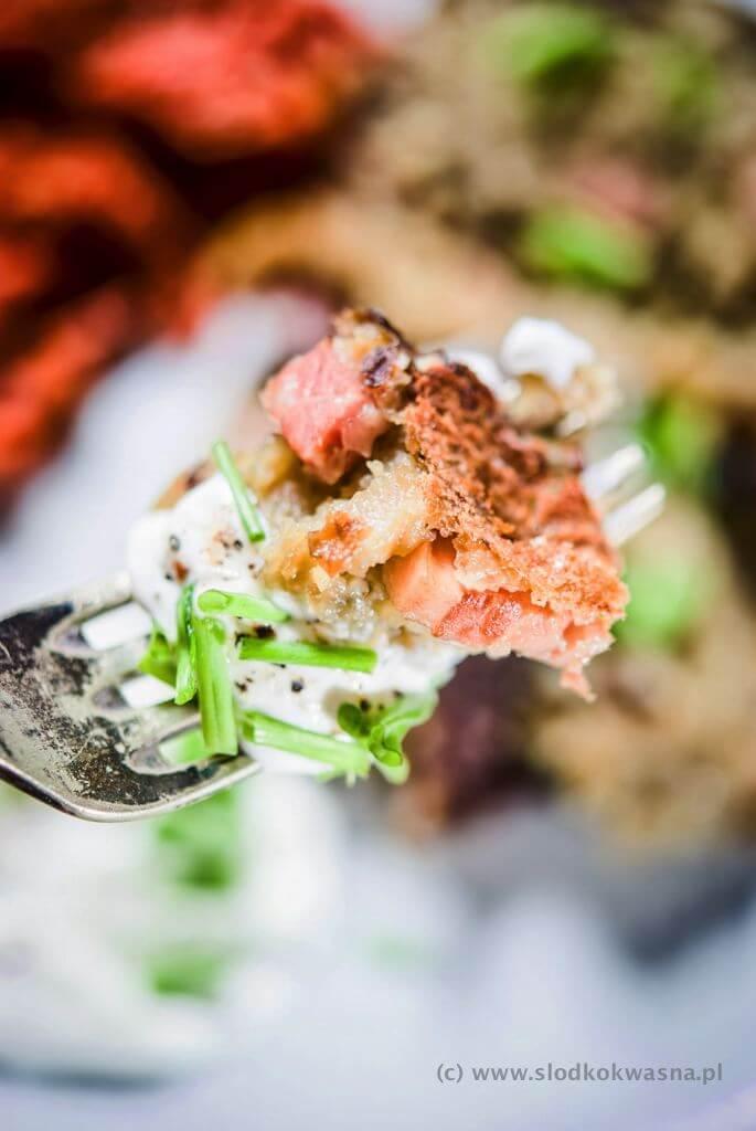 fot cookandwatch com babka ziemniaczana z boczkiem 003 Babka ziemniaczana i kimchi