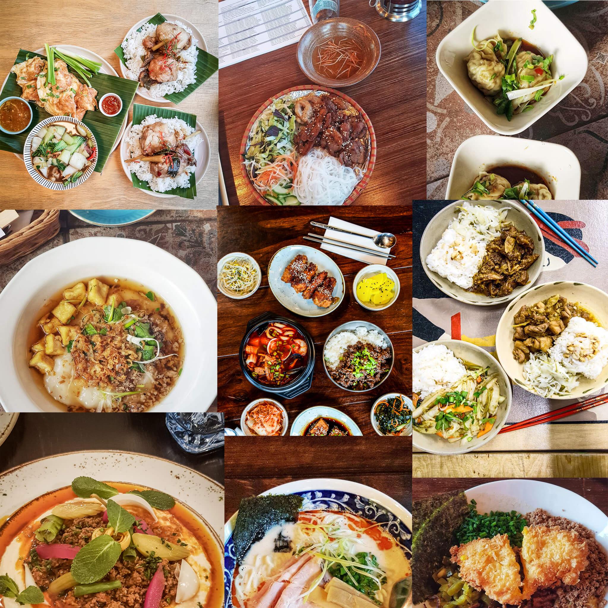 azjatyckie na wynos Jedzenie azjatyckie w dostawie