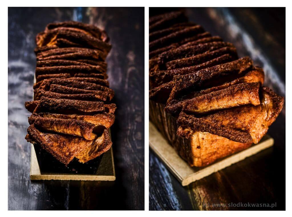 fot cookandwatch com cynamonowiec 002 Cynamonowiec czyli cynamonowe ciasto drożdżowe do odrywania