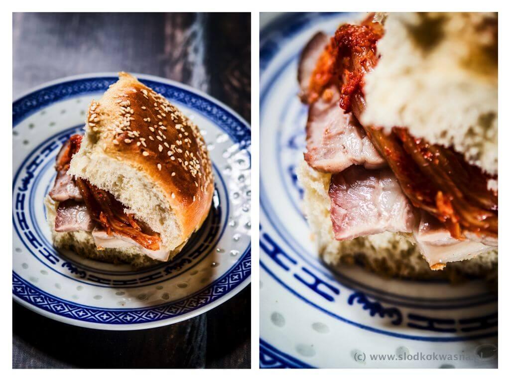 fot cookandwatch com kanapka chalka maslo majonez boczek kimchi 001 Przepis na chałkę