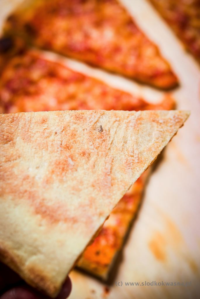 fot cookandwatch com DSCF1199 New York pizza. Klasyczna pizza w stylu nowojorskim