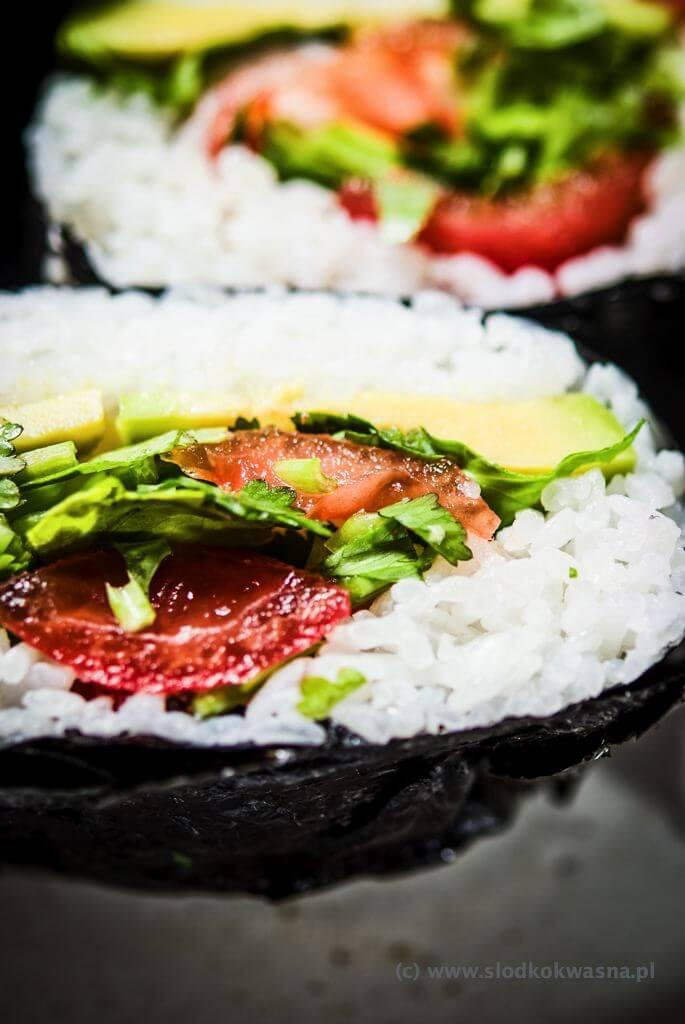 fot cookandwatch com DSCF2437 Onigirazu czyli ryżowe kanapki