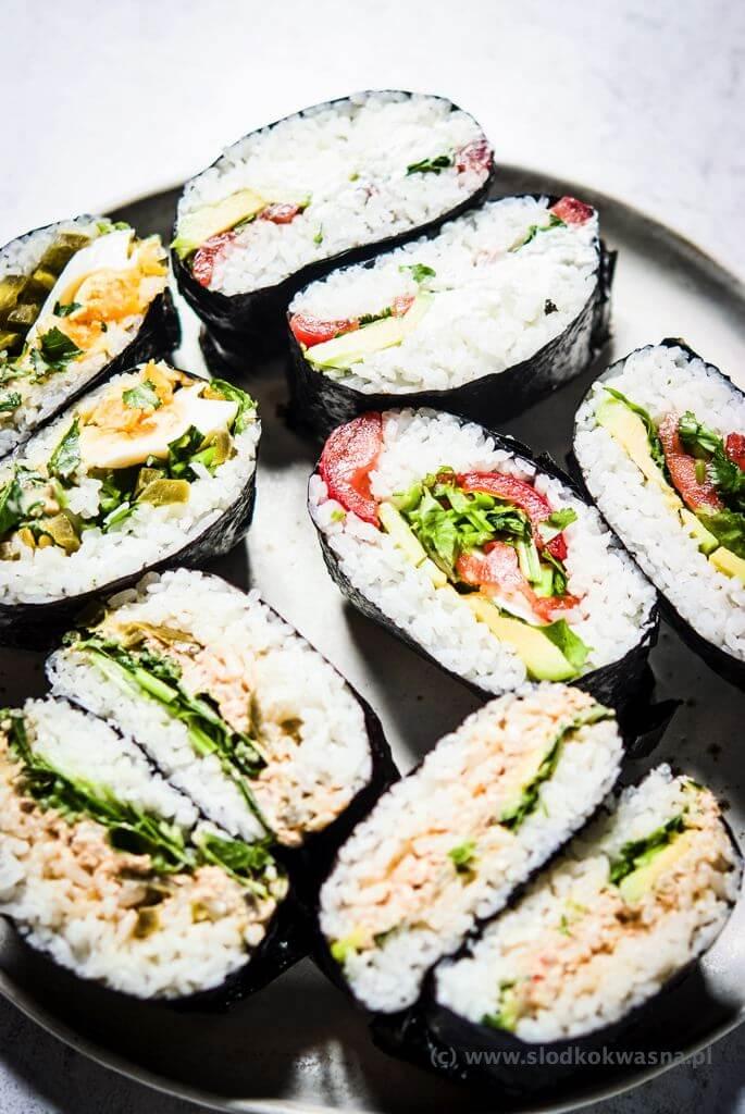 fot cookandwatch com DSCF2444 Onigirazu czyli ryżowe kanapki